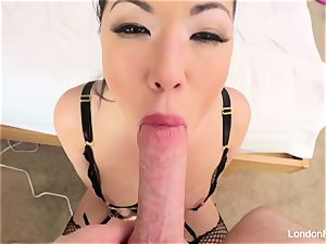 pov anal fucky-fucky with steaming japanese superstar London Keyes