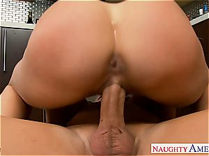 curvy Brandy love bj's man meat and gets ate