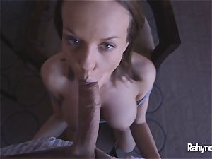 Rahyndee James pov cooter fucked By scorching spear