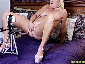 The Skype display with Ms Paris Rose