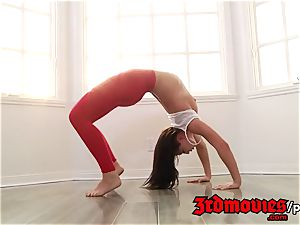 3rdmovies - teenager Yoga and Then hook-up