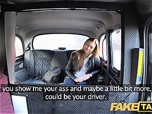 faux cab spycam catches cool couple pounding