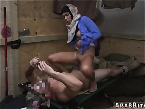 Soldier pokes muslim and arab mom compeer playfellow s daughters-in-law girlally Operation