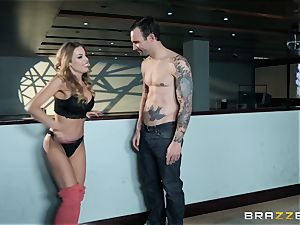 Britney Amber bowling and cooter tearing up