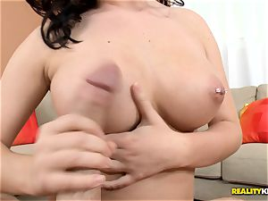 naughty Zoey Wayne gives super hot fellatio