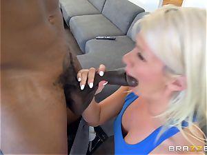 Laela Pryce nailed by a dark-hued boner