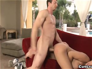 huge-chested Latina Bridgette B is drilled by a humungous bone