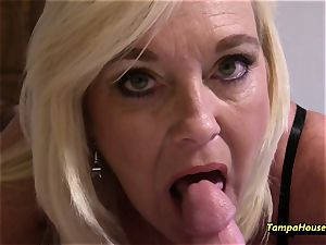 Ms Paris Rose in mom son-in-law No Need for getting off