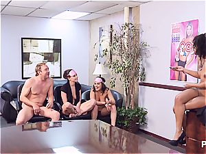 Getting horny in the office part 4