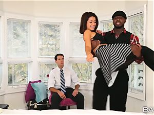 Izzy Bell hotwife session with a humungous big black cock