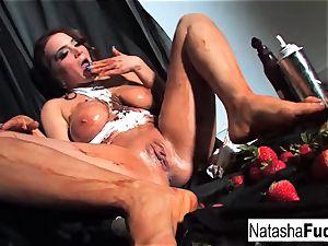 Natasha uber-cute Gets very sloppy