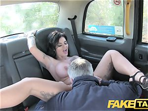fake taxi Frustrated buxom Candy Sexton