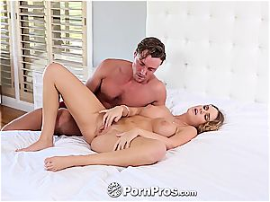 Nothing turns Alexis on more than a large fuck-stick